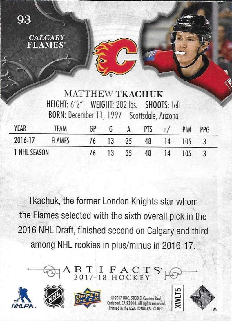 2017-18-Upper-Deck-Artifacts-Hockey-Base-Set-Cards-Choose-Card-039-s-1-100 thumbnail 172