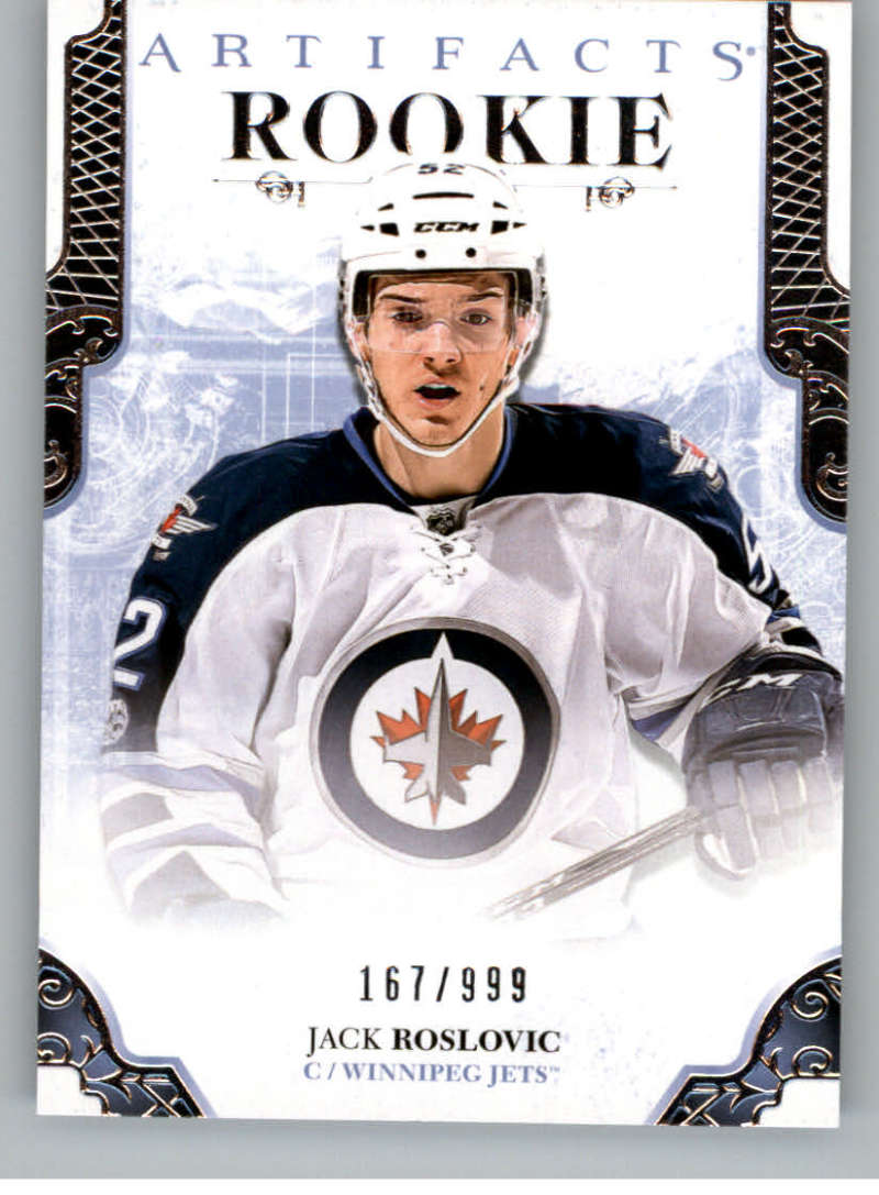 2017-18 Upper Deck Artifacts #178 Jack Roslovic NM-MT RC Rookie /999