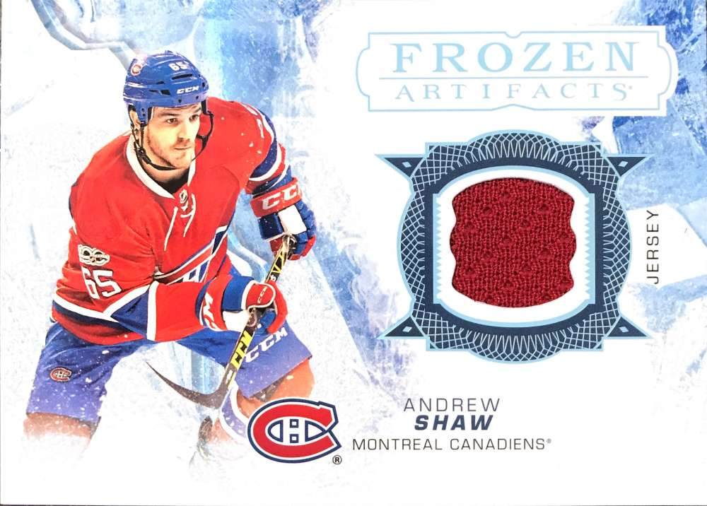 2017-18 Upper Deck Artifacts Frozen Artifacts Jerseys