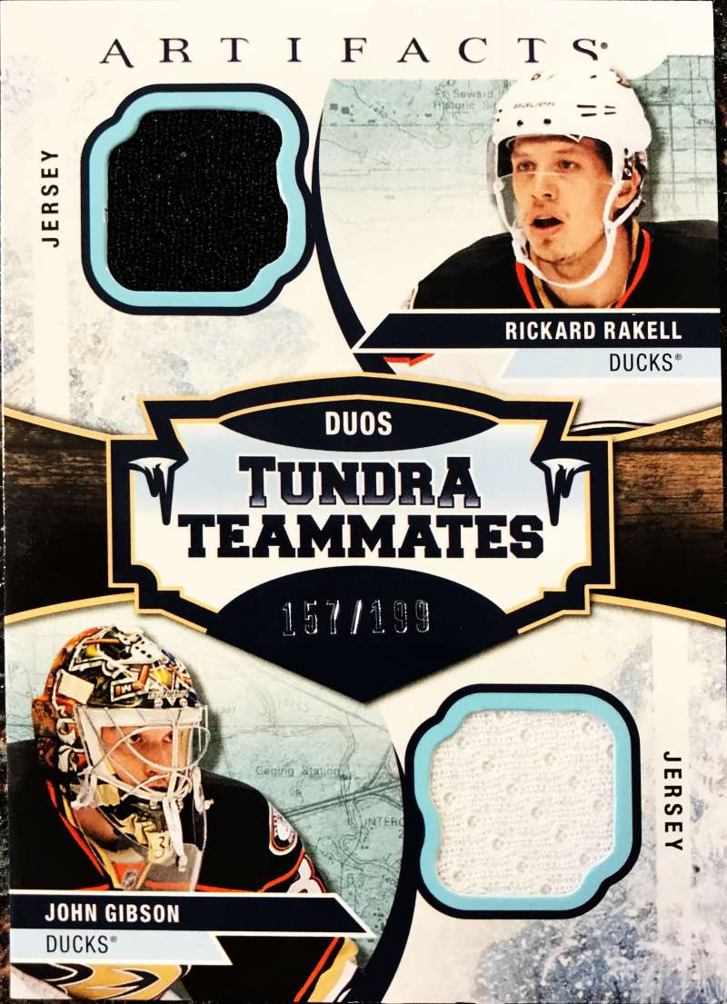 2017-18 Upper Deck Artifacts Tundra Teammates Duos Jersey