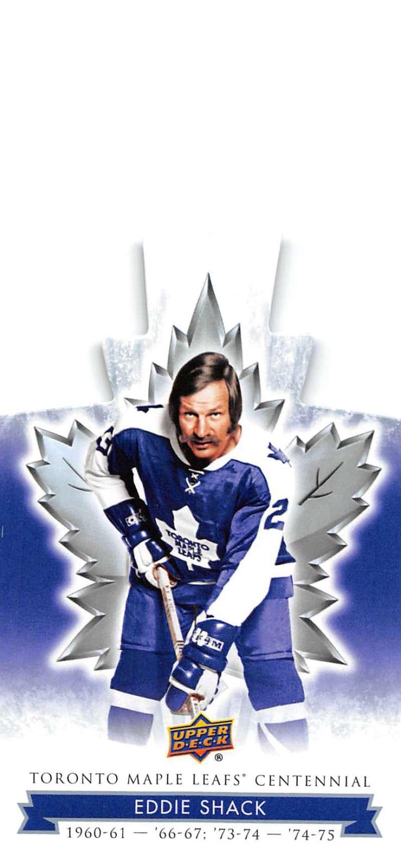 2017-18 Upper Deck Toronto Maple Leafs Centennial Blue Die Cuts