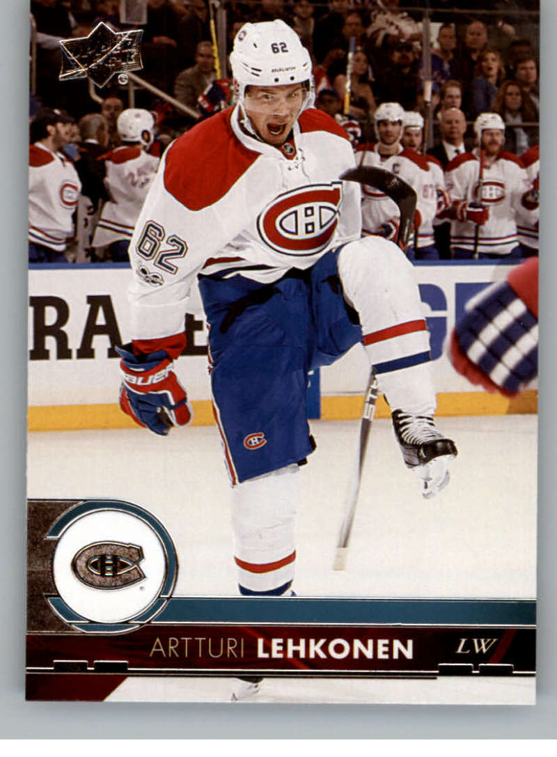 2017-18-Upper-Deck-Hockey-Card-Singles-NHL-Series-1-One-1-200-You-Pick miniature 100