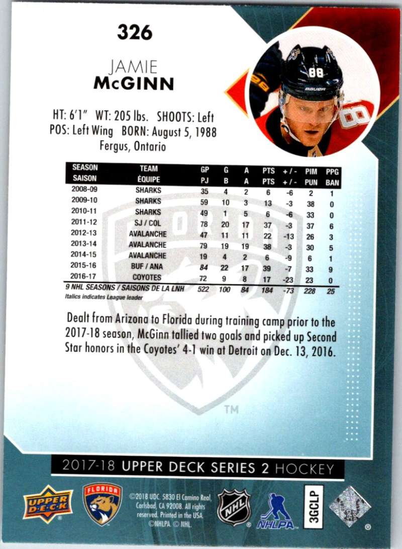 2017-18-Upper-Deck-Hockey-Series-2-Pick-A-Player thumbnail 122