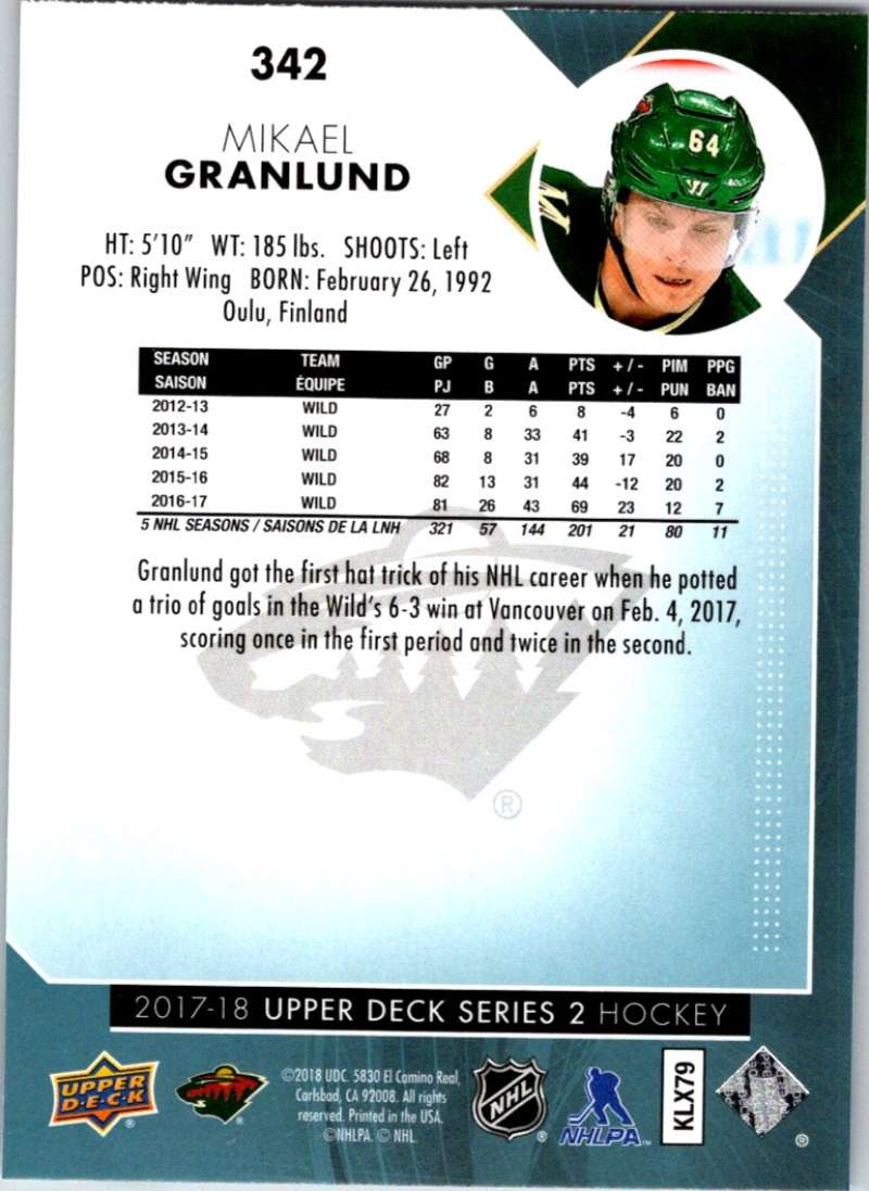 2017-18-Upper-Deck-Hockey-Series-2-Pick-A-Player thumbnail 147
