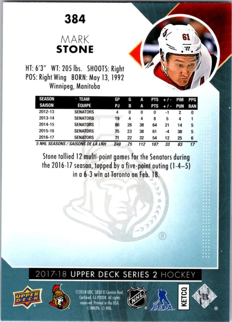 2017-18-Upper-Deck-Hockey-Series-2-Pick-A-Player thumbnail 209