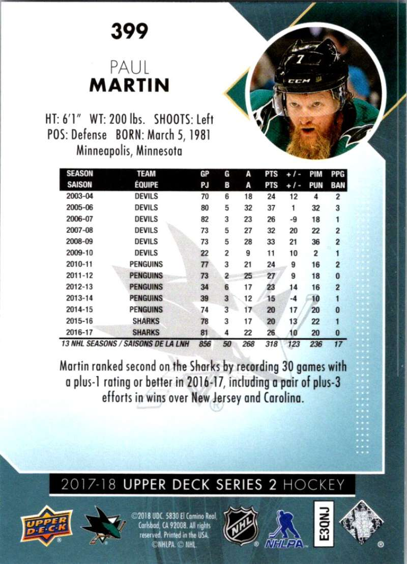 2017-18-Upper-Deck-Hockey-Series-2-Pick-A-Player thumbnail 235