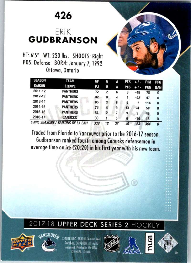2017-18-Upper-Deck-Hockey-Series-2-Pick-A-Player thumbnail 279