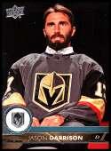 2017-18 Upper Deck #184 Jason Garrison Vegas Golden Knights