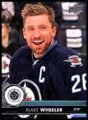 2017-18 Upper Deck #194 Blake Wheeler Winnipeg Jets