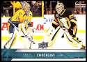2017-18 Upper Deck #199 Pekka Rinne/Matt Murray Nashville Predators/Pittsburgh Penguins
