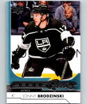 2017-18 Upper Deck #231 Jonny Brodzinski YG RC Rookie Los Angeles Kings