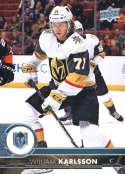 2017-18 Upper Deck #433 William Karlsson Vegas Golden Knights