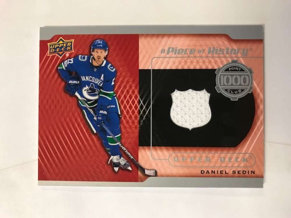 2017-18 Upper Deck  A Piece of History 1000 Point Club