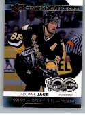 2017-18 Upper Deck Centennial Standouts #CS-68 Jaromir Jagr Pittsburgh Penguins