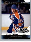 2017-18 Upper Deck Centennial Standouts #CS-99 Wayne Gretzky Edmonton Oilers