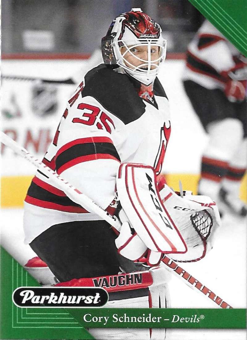 2017-18 Parkhurst NHL Hockey Trading Card #139 Cory Schneider New Jersey Devils