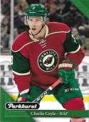 2017-18 Parkhurst NHL Hockey Trading Card #117 Charlie Coyle Minnesota Wild