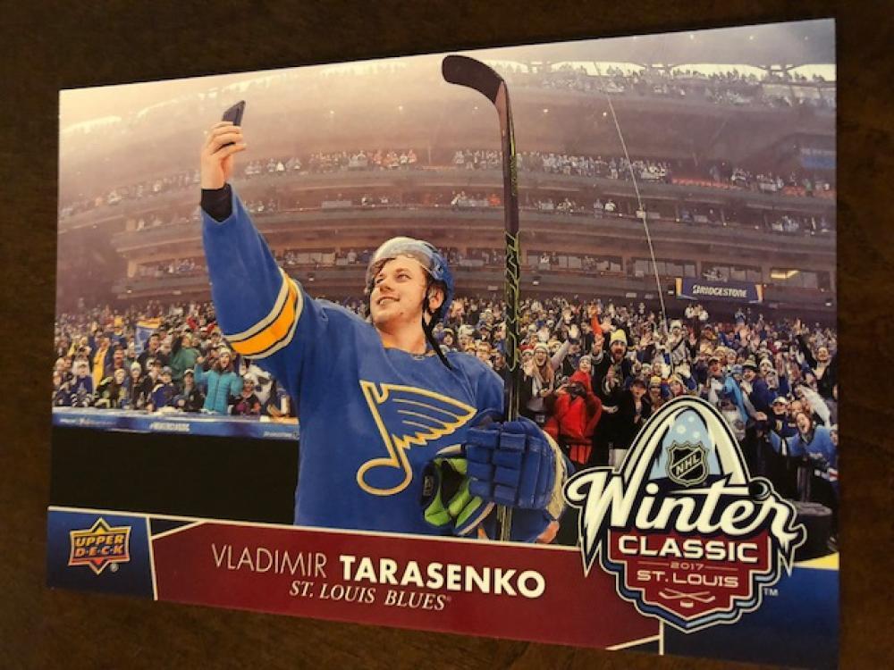 2017-18 Upper Deck  NHL Winter Classic Jumbo