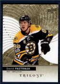 2017-18 Upper Deck Trilogy #3 David Pastrnak Boston Bruins