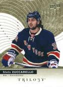 2017-18 Upper Deck Trilogy #6 Mats Zuccarello New York Rangers