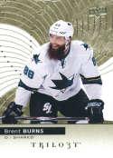 2017-18 Upper Deck Trilogy #8 Brent Burns San Jose Sharks