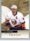 2017-18 Upper Deck Trilogy #10 John Tavares New York Islanders