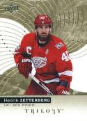 2017-18 Upper Deck Trilogy #11 Henrik Zetterberg Detroit Red Wings