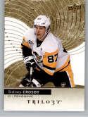 2017-18 Upper Deck Trilogy #15 Sidney Crosby Pittsburgh Penguins