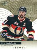2017-18 Upper Deck Trilogy #26 Erik Karlsson Ottawa Senators