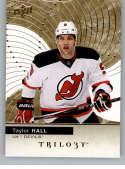2017-18 Upper Deck Trilogy #30 Taylor Hall New Jersey Devils