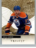 2017-18 Upper Deck Trilogy #34 Milan Lucic Edmonton Oilers