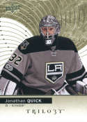 2017-18 Upper Deck Trilogy #37 Jonathan Quick Los Angeles Kings