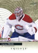 2017-18 Upper Deck Trilogy #40 Carey Price Montreal Canadiens