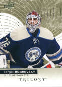 2017-18 Upper Deck Trilogy #42 Sergei Bobrovsky Columbus Blue Jackets