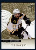 2017-18 Upper Deck Trilogy #44 Patrice Bergeron Boston Bruins