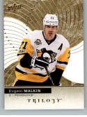 2017-18 Upper Deck Trilogy #45 Evgeni Malkin Pittsburgh Penguins