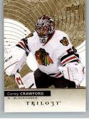 2017-18 Upper Deck Trilogy #46 Corey Crawford Chicago Blackhawks