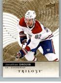 2017-18 Upper Deck Trilogy #47 Jonathan Drouin Montreal Canadiens