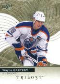 2017-18 Upper Deck Trilogy #50 Wayne Gretzky Edmonton Oilers