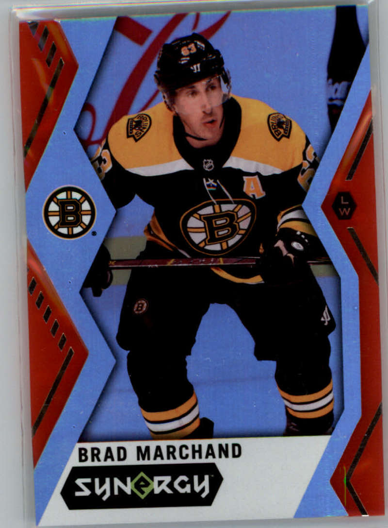 2017-18 Upper Deck Synergy Red #6 Brad Marchand NM+