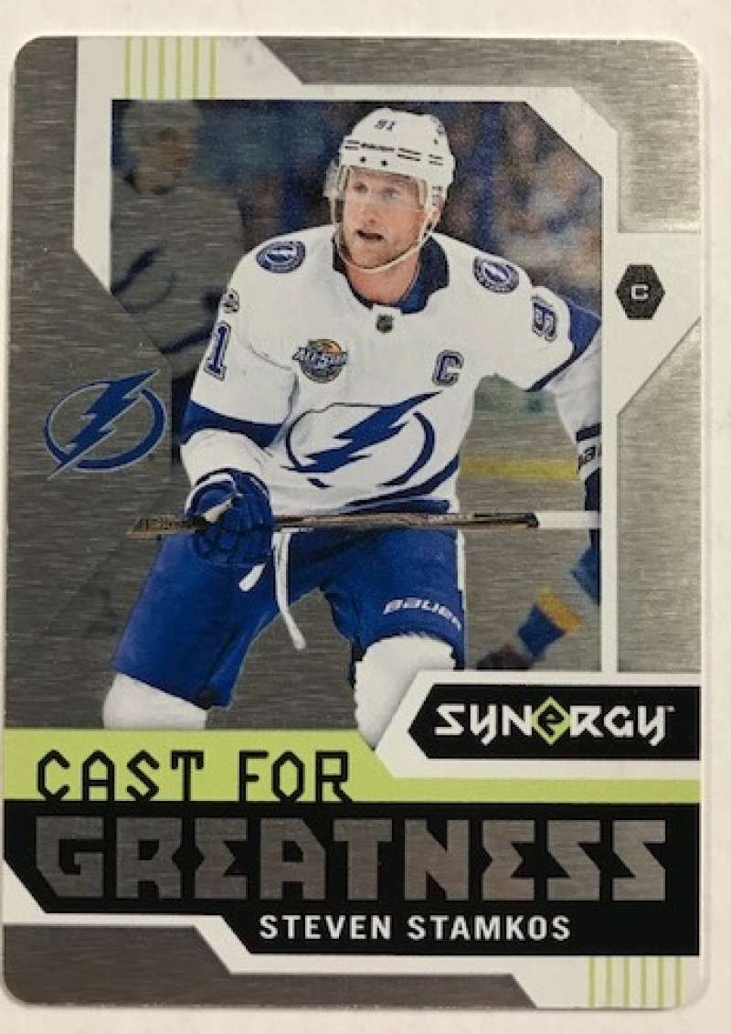 2017-18 Upper Deck Synergy Cast For Greatness Metal