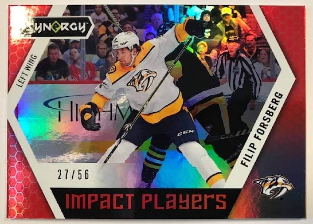 2017-18 Upper Deck Synergy Impact Players Red