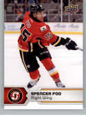 2017-18 Upper Deck AHL #49 Spencer Foo Stockton Heat