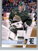 2017-18 Upper Deck CHL #2 Carter Hart Everett Silvertips Canadian Hockey League Card