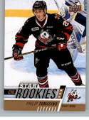 2017-18 Upper Deck CHL #315 Philip Tomasino RC Rookie SP Niagara IceDogs Star Rookies Canadian Hockey League Card