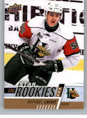 2017-18 Upper Deck CHL #322 Raphael Lavoie RC Rookie SP Halifax Mooseheads Star Rookies Canadian Hockey League Card