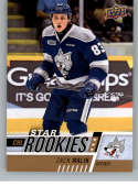 2017-18 Upper Deck CHL #349 German Rubtsov RC Rookie SP Chicoutimi Sagueneens Star Rookies Canadian Hockey League Card