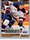 2017-18 Upper Deck CHL #381 Damien Giroux RC Rookie SP Saginaw Spirit Star Rookies Canadian Hockey League Card