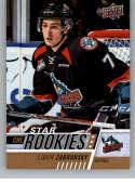 2017-18 Upper Deck CHL #389 Libor Zabransky RC Rookie SP Kelowna Rockets Star Rookies Canadian Hockey League Card