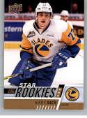 2017-18 Upper Deck CHL #391 Kirby Dach RC Rookie SP Saskatoon Blades Star Rookies Canadian Hockey League Card